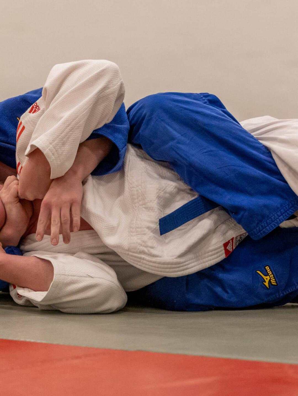 Gulvkamp i Judo